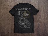 """Commander """"Snake"""" T-Shirt for Men / Women photo"""