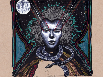 House of Stone: Death III Digital Album + Cover Art Print + Poster Series + Original Art Collection main photo