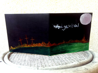 """Song From The Moon"" Hand painted sleeve main photo"