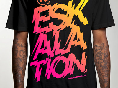 I Love Eskalation (Schwarz - Pink/Neongelb) main photo