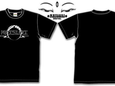 Oldskool Matsuri Logo T-shirts / Phosphorescent or Silver main photo