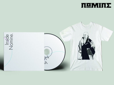 "CD & TSHIRT BUNDLE: Inside Nomine Signed CD Album + Limited Edition Nomine ""Master Po / Blind Man"" T-shirt  (Ladies) main photo"