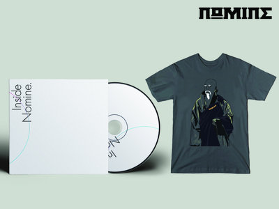 "CD & TSHIRT BUNDLE: Inside Nomine Signed CD Album + Limited Edition Nomine ""Master Po / Blind Man"" T-shirt (Mens) main photo"