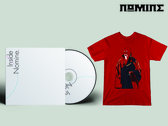 "CD & TSHIRT BUNDLE: Inside Nomine Signed CD Album + Limited Edition Nomine ""Master Po / Blind Man"" T-shirt (Mens) photo"