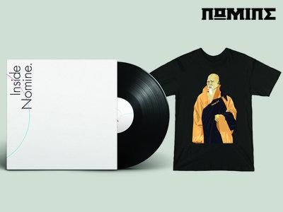 "VINYL & TSHIRT BUNDLE: Inside Nomine Signed 2x12"" Vinyl Album + Limited Edition Nomine ""Master Po / Blind Man"" T-shirt (Mens) main photo"