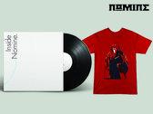 "VINYL & TSHIRT BUNDLE: Inside Nomine Signed 2x12"" Vinyl Album + Limited Edition Nomine ""Master Po / Blind Man"" T-shirt (Mens) photo"