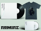 "VINYL + CD & TSHIRT BUNDLE: Inside Nomine Signed 2x12"" Vinyl Album + Signed CD Album + Limited Edition Nomine ""Master Po / Blind Man"" T-shirt (Ladies) photo"