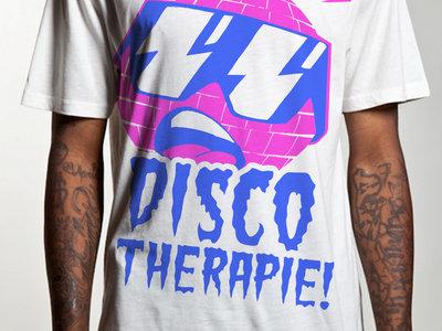 Discotherapie #1 (Weiß - Pink/Hellblau) main photo