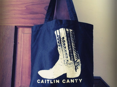 Tote Bag Organic Cotton with Boot main photo