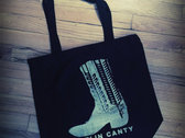 Tote Bag Organic Cotton with Boot photo