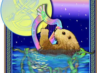 Sea Otter T-Shirt - Art by Debra Knodel main photo