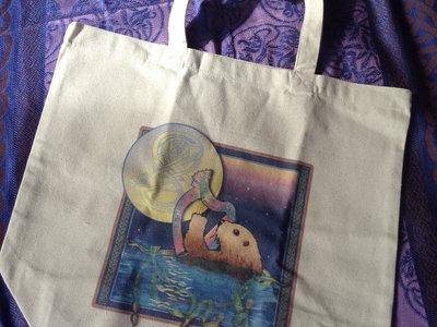Sea Otter Tote Bag - Art by Debra Knodel main photo