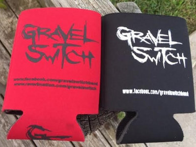 Gravel Switch Koozie (Available in Red only) main photo