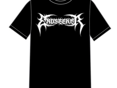 "T-Shirt ""Endseeker Logo"" Black main photo"