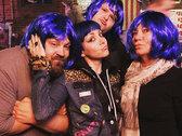 "BLUE ""GRETA"" WIG photo"