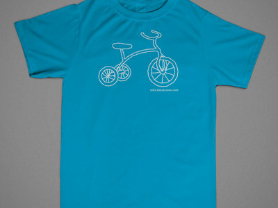 Mint tricycle tee main photo