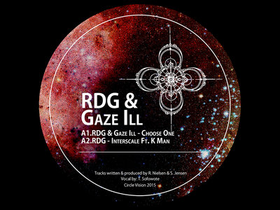 "CVNWA001 - RDG & Gaze Ill - Choose One / RDG - Interscale ft. K Man (12"" Vinyl) main photo"
