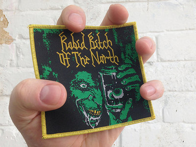 Green Eyes - woven patch main photo