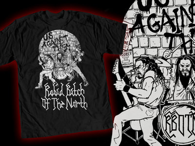 Us Against Them - shirt (limited to 200) main photo