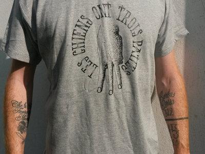 """T-Shirt Gris """"3 Pattes"""" main photo"""