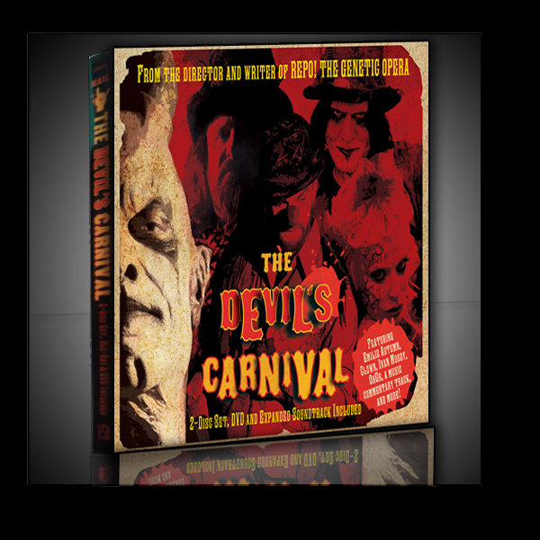fa5d962fde90 The Devil s Carnival 2-Disc Set  CD DVD  Expanded Soundtrack