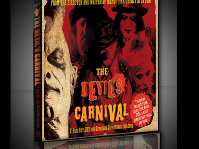 The Devil's Carnival 2-Disc Set [CD/DVD][Expanded Soundtrack] main photo