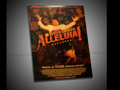 Alleluia! The Devil's Carnival (Limited Edition Movie Poster) 27x39 main photo