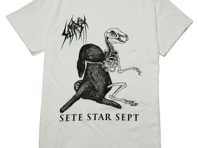 White - Split w/Godstomper T-shirt main photo