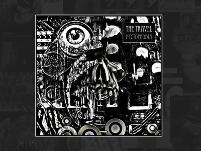 THE TRAVEL - Nyctophobia (limited edition black CD) main photo