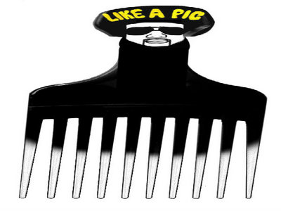 Like A Pic Official HipHopHendrix Hair Pick (Comb) main photo