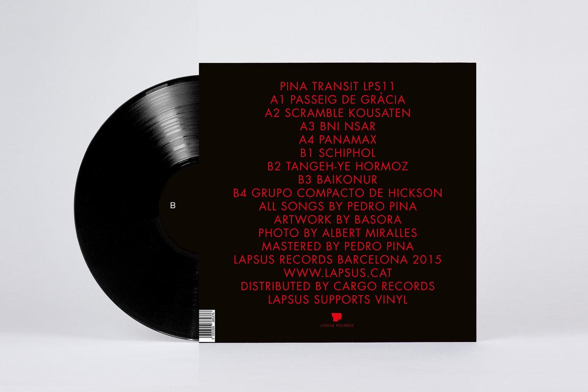 Pina Design transit lapsus records
