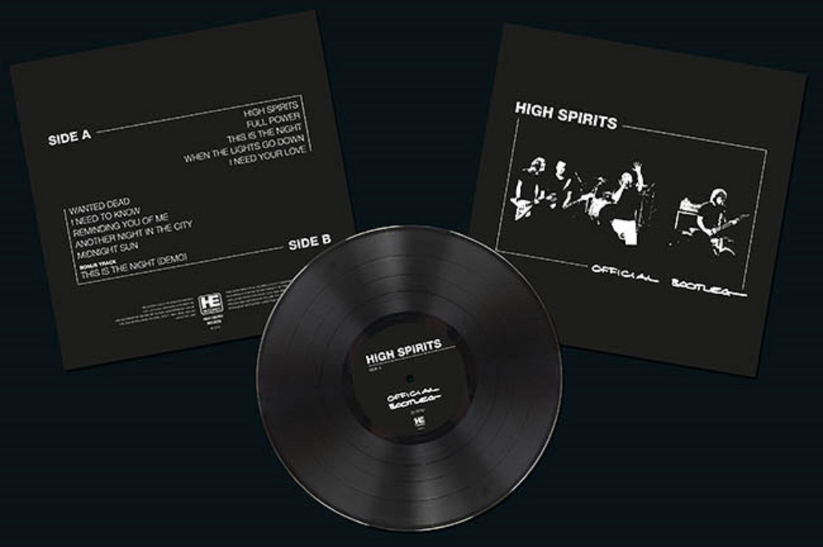 Official Bootleg LP | High Spirits