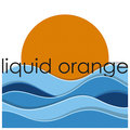 liquid orange image