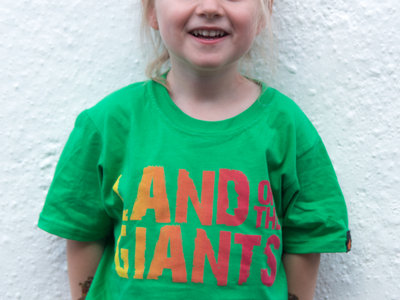 KIDS 'Land of the Giants' Logo T-Shirt (Green) - Girls / Boys main photo