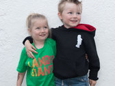 KIDS 'Land of the Giants' Logo T-Shirt (Green) - Girls / Boys photo