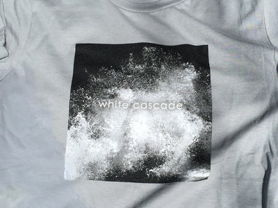 "Men's White Cascade ""Endless"" T-shirt main photo"