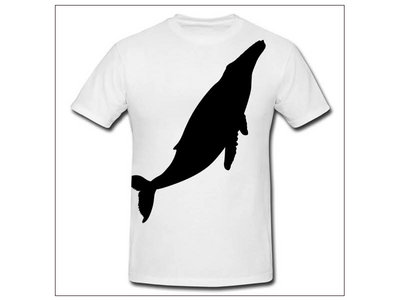 """Tungsten """"recorded whale"""" Tee main photo"""