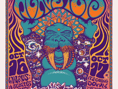 Limited Edition 10th Anniversary Funky Buddha Poster designed by Nathaniel Dias main photo