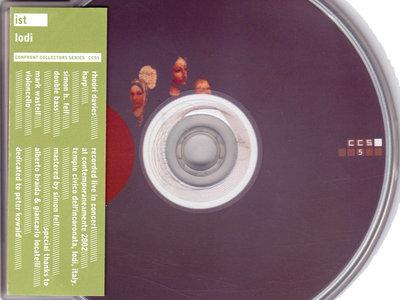 Lodi: CD album (CCS5) main photo