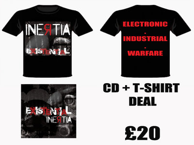 Existential CD + T-Shirt Deal main photo