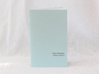 EV001E: Jordan Dykstra - Cross Sections (chapbook in English) main photo