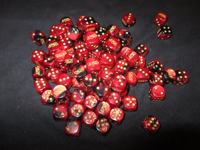 1 Custom Die (d6, 6-sided) - A Band of Orcs main photo