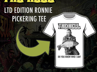 LTD EDITION RONNIE PICKERING (DO YOU KNOW WHO I AM?) TEE main photo