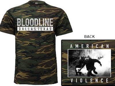 """American Violence"" Camo Tee main photo"