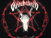 Witchskull -The Vast Electric Dark Pentagram T-Shirt photo