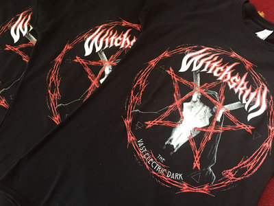 Witchskull -The Vast Electric Dark Pentagram T-Shirt main photo