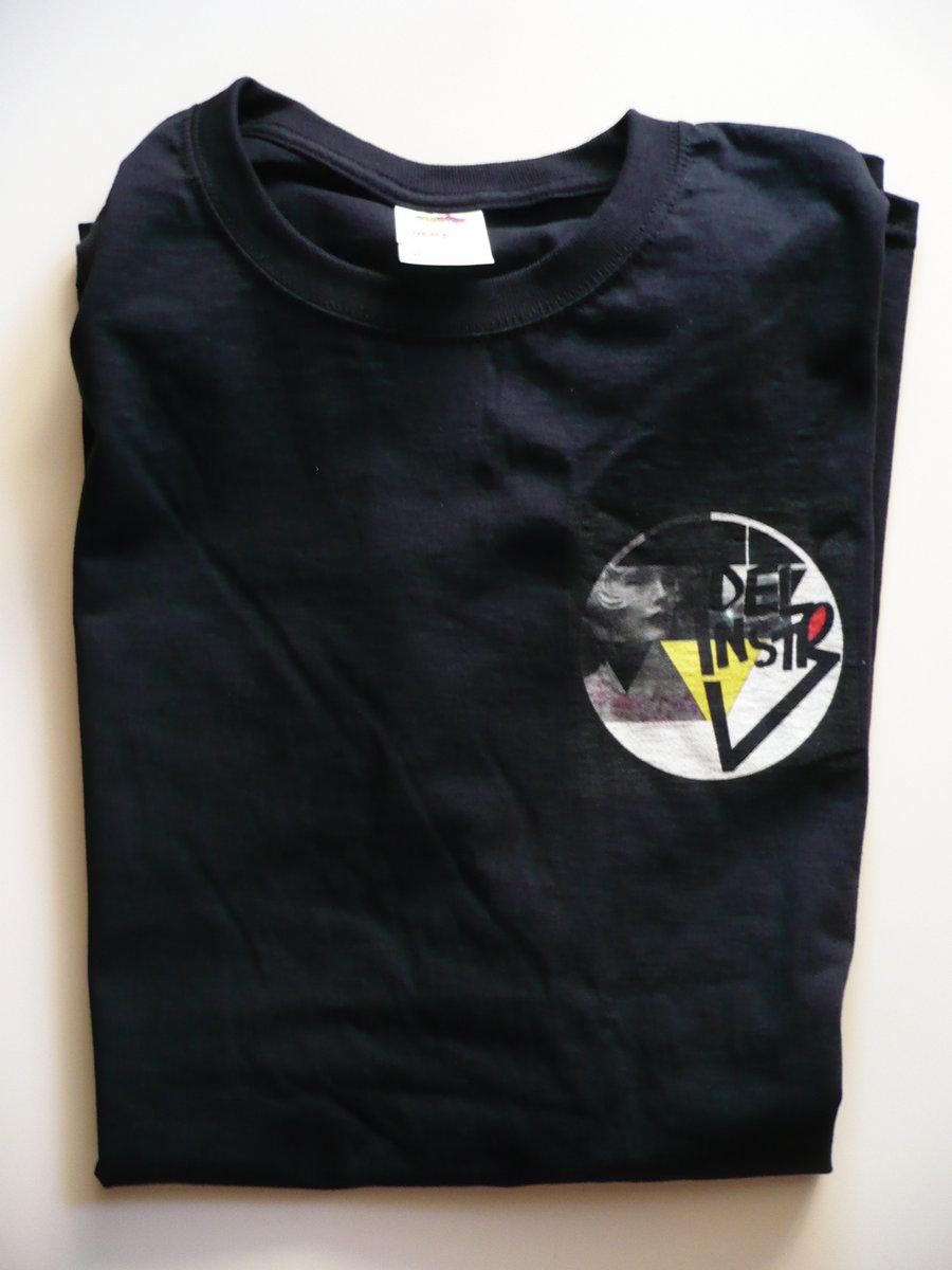 Black t shirt back and front -  T Shirt Delinstr Delicate Instruments Badge Of Shame X Large