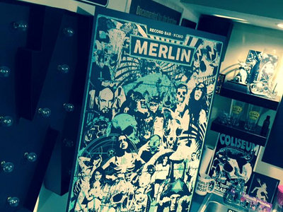 Merlin Live at KC Psych Fest Poster main photo