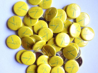 """Aberdeen, 'Stars & Window', Yellow, 1"""" Badge main photo"""