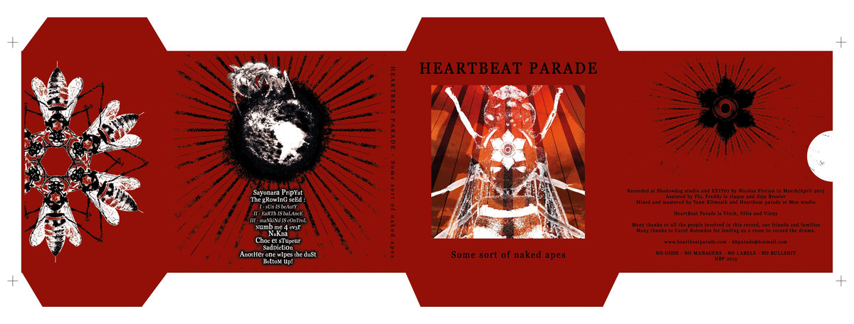 The growing seed III - Mankind is control   Heartbeat parade